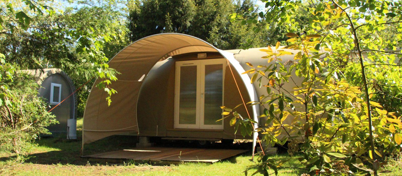 Location insolite au camping Au P'tit Bonheur Dordogne