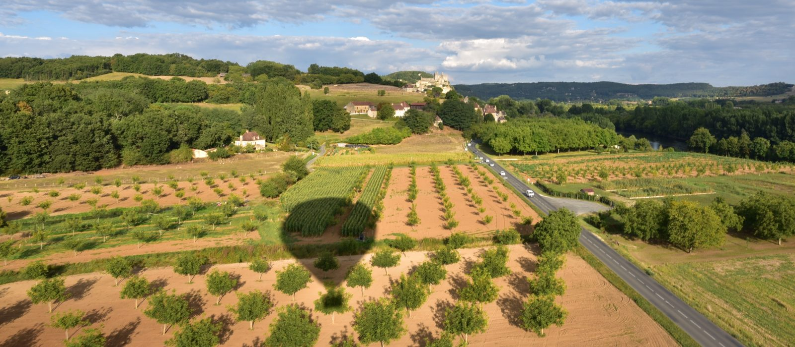 balade en mongolfière Dordogne