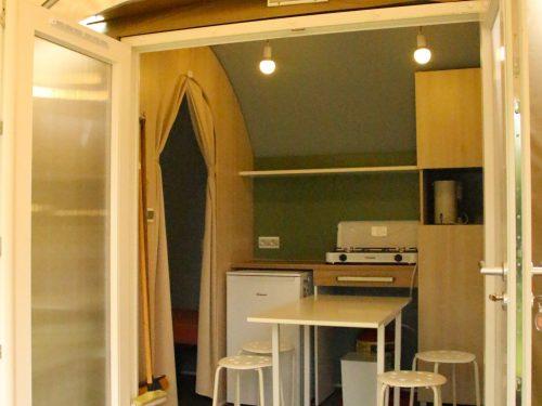 Envie de changer de style de location ? venez essayer les Coco Sweet au camping Au p'tit Bonheur, en Dordogne
