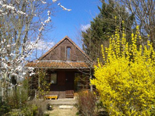 Location de gîte 9 personnes au camping Au P'tit Bonheur en Dordogne