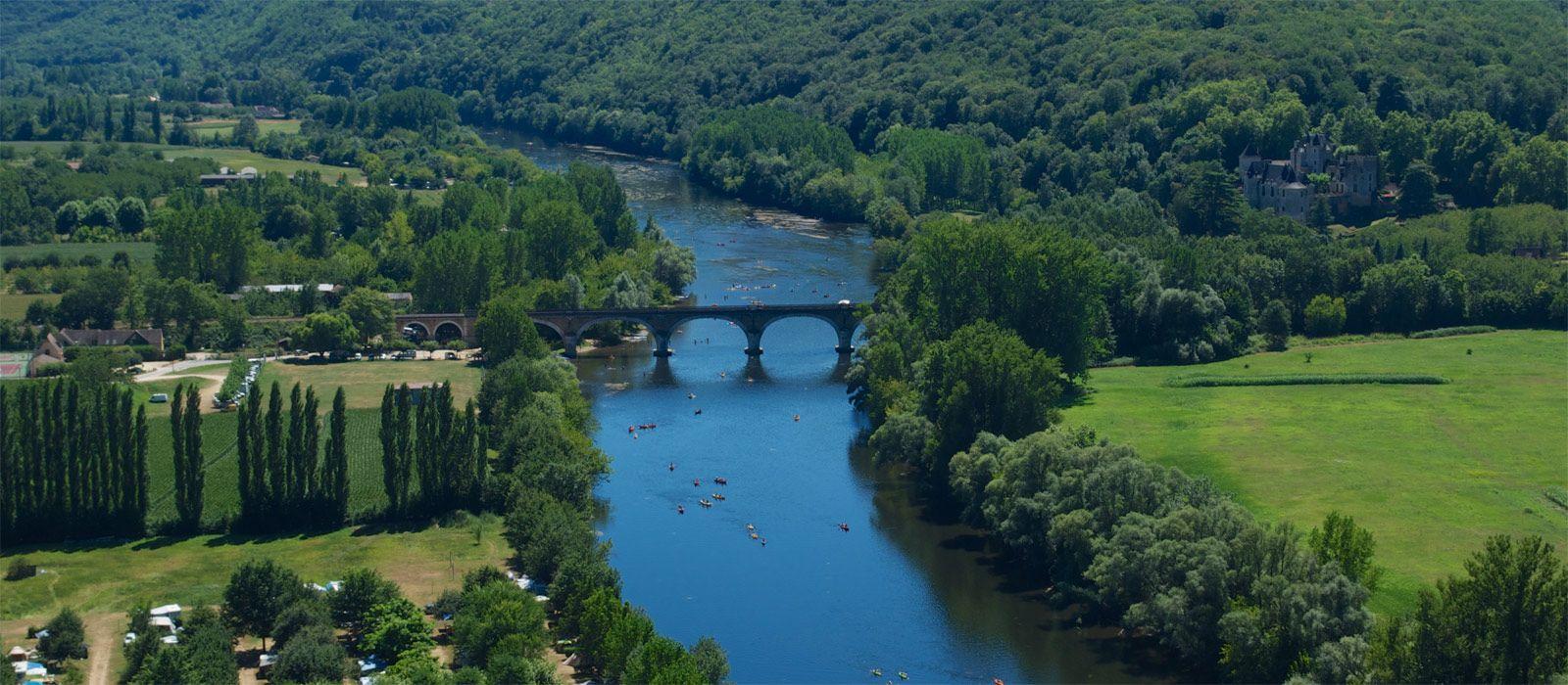la Dordogne source de plaisirs à partager au camping Au P'tit Bonheur