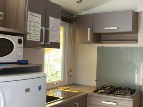 mobil-home 3 chambres en Dordogne au camping Au P'tit Bonheur