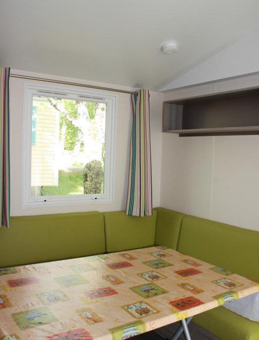 location mobil-homes 3 chambres camping Au P'tit Bonheur en Dordogne