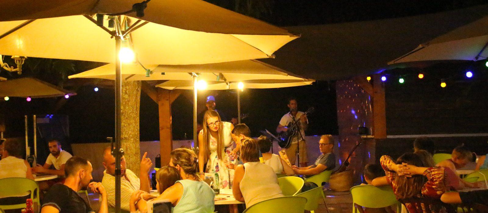 le restaurant du camping Au P'tit Bonheur Dordogne