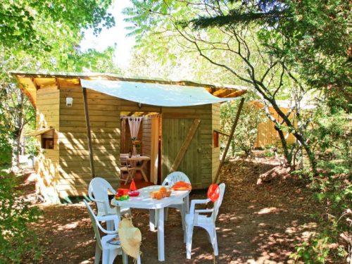 Location insolite 6 personnes en Dordogne camping Au P'tit Bonheur