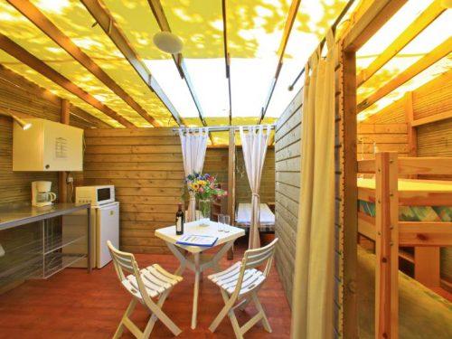 location insolite en Dordogne au camping Au P'tit Bonheur