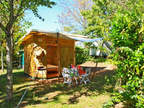 location insolite pour 2 personnes en Dordogne camping Au P'tit Bonheur