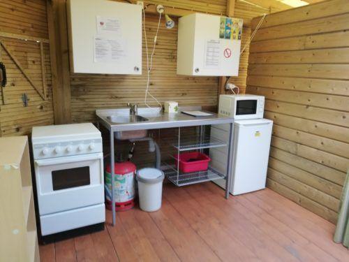 cuisine équipée Ti Bonheur- cabane pour 6 personnes