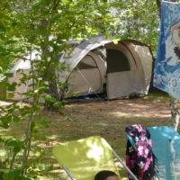 Camping plaats
